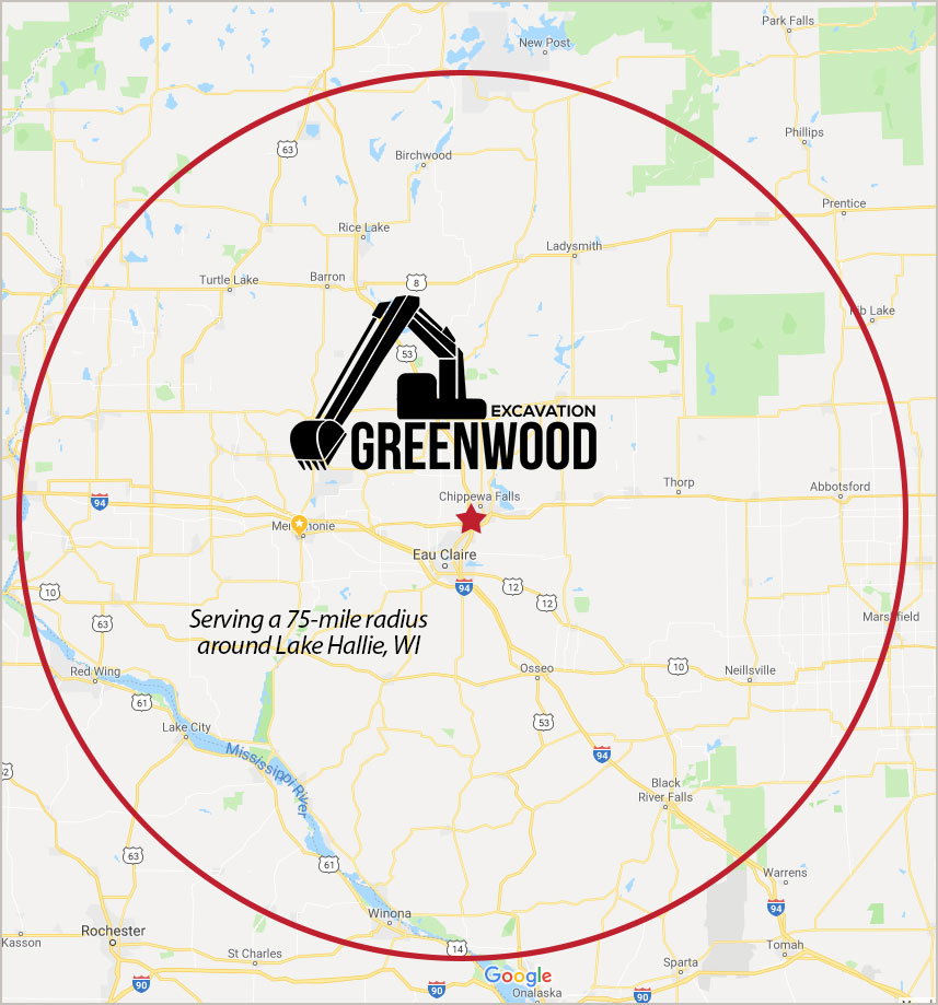 Greenwood Excavation Service Area